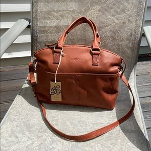 AMERICAN LEATHER Co. Carrie Dome Satchel